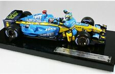 MATTEL G9754 RENAULT R25 F1 model car 2005 FERNANDO ALONSO driver figure 1:18th