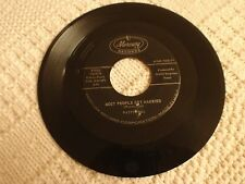 PATTI PAGE MOST PEOPLE GET MARRIED/YOU DON'T KNOW ME MERCURY 71950
