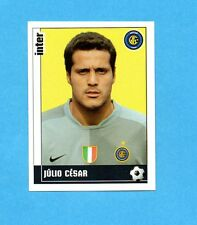 PANINI CALCIATORI 2006-2007- Figurina n.159- JULIO CESAR - INTER -NEW