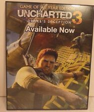 UNCHARTED3 11''X 14'' ADVERTISING URBAN ART POSTER