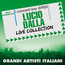 """LUCIO DALLA """"LIVE COLLECTION @ RSI"""" (CD+DVD)"""