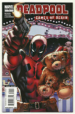 Deadpool Games Of Death 2009 #1 Very Fine/Near Mint