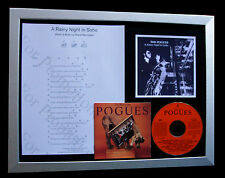 POGUES A Rainy Night In Soho LTD TOP QUALITY CD FRAMED DISPLAY+FAST GLOBAL SHIP