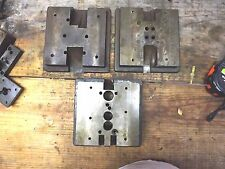 Die platen / Die Holder , can be used as anvils , made with tool steel ( 3-1 )