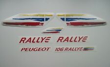 PEUGEOT 106 RALLYE REPLACEMENT STICKERS DECALS SET GRAPHICS KIT