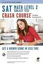 SAT Subject Test(tm) Math Level 2 Crash Course Book + Online by Staff of...
