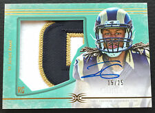 #/25 Todd Gurley Topps Definitive Green Auto Patch RC #DC-11