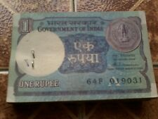 Old Indian Note Rs.1 (One Rupee) Qty-100 (One Bundal)buy Rs.850  only.non serial