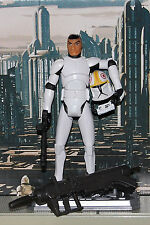 Star Wars Clone Wars Clone pilot Odd Ball-custom 3.75 fig. with REMOVABLE helmet