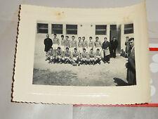 photo de l equipe de france de rugby annee 60 avant le match galles juniors