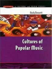 Cultures of Popular Music (Issues in Cultural & Media Studies)