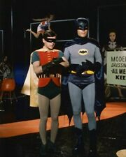 ADAM WEST AS BATMAN/BRUCE WAYNE, BURT WARD A 8X10 PHOTO