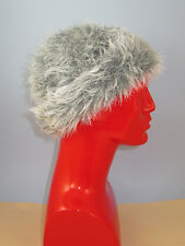 PRINTED KNITTING INSTRUCTIONS - FAUX FUN FUR RUSSIAN BEANIE HAT KNITTING PATTERN