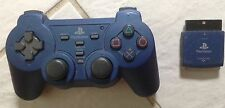 Wireless PS2 Playstation 2 Force 2 Katana Controller BLUE Sony Official Licensed