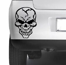 COOL SKULL Decorative Car Bumper Van Window Wall Laptop VINYL DECAL STICKER