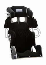 """16"""" Ultra Shield 20 degree Race VS Halo Full Containment Racing Seat Black Cover"""