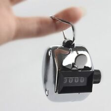 Hot Sale High Quality Hand held Tally Counter 4 Digit Number Clicker Golf ZOSU