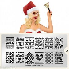 MoYou London FESTIVE 4 Collection Stamping Schablone, Weihnachten ugly sweater