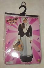 Pilgrim Girl Child's Costume~Halloween~Size Medium 8-10~Forum Novelties 59579