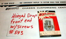 1 Chassis Hinged Drop Front End Kit by Dynamic1960 Vintage #543 NOS