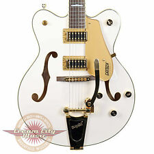 Brand New 2016 Gretsch G5422TG Electromatic Hollow Body Snowcrest White Falcon