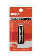 Magic Weaving Combo Black Thread & Needles