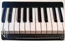Stickers carte bancaire motif PIANO -- FABRICATION FRANCAISE --