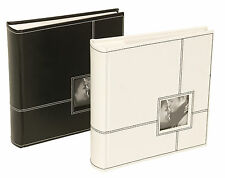 "Sonata Classic Photo Album (Black) 200 Photos 6x4"" NEW   20483"