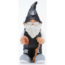 "Oakland Raiders 11"" Male Garden Gnome [NEW] NFL Doll Mascot CDG"