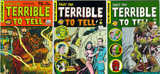 Tales Too Terrible To Tell 1-8 Pre-Code Horror Vampire
