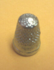 Monopoly Board Game Part/Piece: Pewter THIMBLE Token
