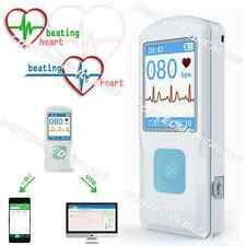CONTEC PM10 Portable ECG EKG Machine with USB,Heart Beat Monitor, Bluetooth,LCD