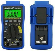 HoldPeak HP-90EPC Auto Ranging Digital Multimeter - Blue Black