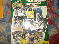 2005-06 GEORGE MASON PATRIOTS BASKETBALL MEDIA GUIDE 2006 FINAL 4 TEAM!! AD