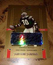 2005 Donruss Classics Significant Signatures Serial#/150 Ickey Woods Auto Geico*