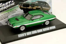Ford Gran Torino Sport Moviecar Fast and Furious Baujahr 1972 grün 1:43 Greenli