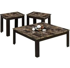 Coffee Table And End Tables Sets Living Room 3 Piece Attractive Square Furniturе