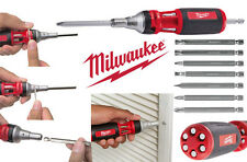 Milwaukee 10-In-1 Multi-Bit Ratchet Screwdriver  **AWESOME DEAL **