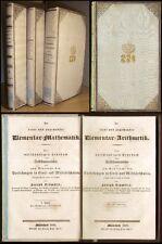 Mathematik - Schmölzl,  Adelseinbände Seide Goldkrone Herzog Wilhelm in Bayern