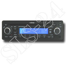 VDO CD716U-BU CD Radio mit RDS USB MP3 Autoradio 12V FM Tuner LCD blau Display