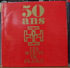 "LES SCOUTS DE FRANCE 50 ANS 45t 7"" FRENCH EP"