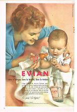 PUBLICITE ADVERTISING 014   1959   EVIAN   eau minérale