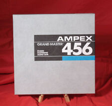 "Ampex 456 10.5"" X 1/2"" Aluminum Reel to Reel Excellent! Recorded Once"