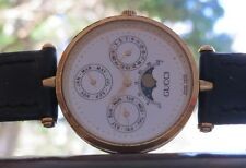 Famous & Rare the Greeat Gucci A MOONPHASE WATCH Cant Miss this from Distance..