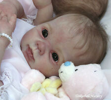 "Gorgeous-Dumplin, by Donna RuBert-1st Quality 18"" reborn Doll Kit-free ship USA"