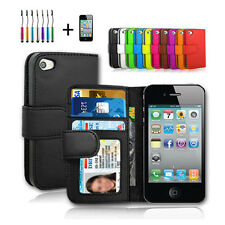 New AU iphone 4 4S Case Leather Cover For Apple
