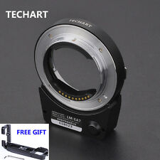 Techart LM-EA7II Auto Focus Adapter Leica M lens to Sony A7II Free Release plate