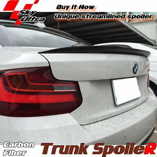 Carbon Fiber Performance Type Trunk Spoiler For BMW 2-Series F22 Coupe 2014~16