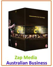 24 - COMPLETE DVD SERIES SEASONS 1 2 3 4 5 6 7 8 & 9 + REDEMPTION - NEW & SEALED