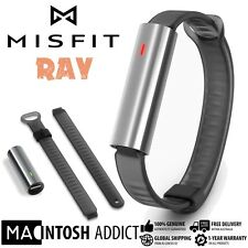 Misfit Ray Wearable Fitness Sleep Activity Monitor Tracker SILVER Sport Band